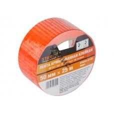 Лента армированная клейкая 50ммх25м оранжевая STARTUL PROFI (идеально подходит для супер-прочного со
