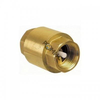 Клапан обр латун. пруж Ду32 Ру16 М/М  д/лат ( шток латун.) Китай