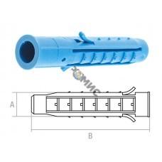 Дюбель  6х50 мм распорный 4х-сегм. (уп.1000 шт в уп.) STARFIX (SM-42335-1000) поштучно, Россия
