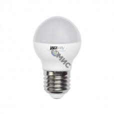 Лампа светодиодная G45 шар 8Вт 5000К E27 JazzWay, РФ8562