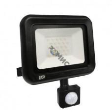 Прожектор светодиодный с датчиком движения СДП-01-Д 20Вт 6500К IP65  ETP, Китай5500