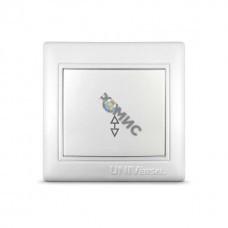 Выключатель проходной 1-кл. СП Севиль 10А IP20 бел. UNIVersal С0025, РФ