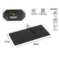 Блюдо для подачи сервировочное 34х17 см, сланец, PERFECTO LINEA