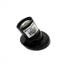 Патрон карболитовый настенный ,Е27 черный наклонный TDM, Китай