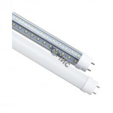 Лампа светодиодная (аналог 36 Вт 1200мм) LED Т8 18W-840-G13-1200mm (диод труб. стекл18Вт 4000К, повор. цоколь) ЭРА, РФ  9927