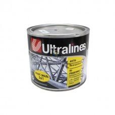 Грунт-эмаль (3в1)  красно-коричневая 1,8кг ULTRA LINES 4680037194949, Россия