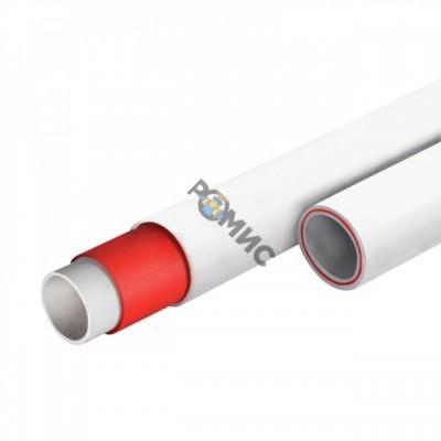 PP-R Труба армированная стекловолокном белая Ду50х6,9  PN20 SDR 7,4 РТП Россия