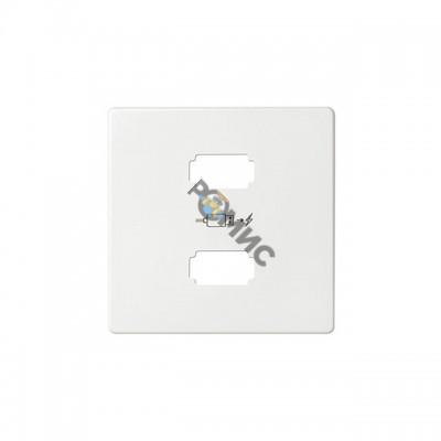 Накладка для зарядного устройства 2xUSB белого цвета S82 8211096-030, Испания