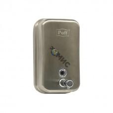 Дозатор для жидкого мыла из нерж.стали Puff-8615m матовый хром,1000мл, код 0402.611 Страна происх.:РФ