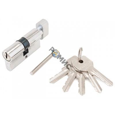 Цилиндровый механизм 60мм (30х30, англ.ключ - вертушка) Стандарт Z.I.60B-5K CP 5кл