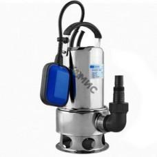 Насос погружной для загрязненной воды, нерж. INOXVORT 1100 SW, UNIPUMP (1100Вт, 260 л/мин, напор 11м ) Россия