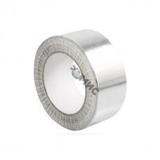 Лента алюминиевая клейкая 50ммх50м армир.  (ЛМА 9 мкм) Россия