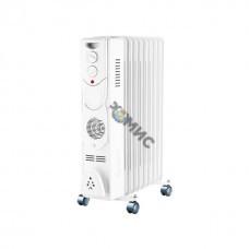 Радиатор масляный эл. 2,5 кВт, 11 секц. 3 режима: 1000/1500/2500В  ТЕПЛОКС, Россия