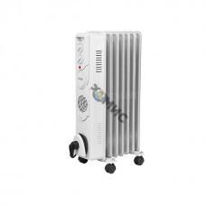 Радиатор масляный эл. 1,5 кВт,  7 секц. 3 режима: 600/900/1500В, ТЕПЛОКС, Россия 8416