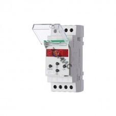 Реле времени PCZ-521-1 16А 24-264В AC/DC 1п IP20 1канал-125пар включ./выключ. суточн./недел. циклы монтаж на DIN-рейке (аналог ТЭ-15) F&F EA02, РФ