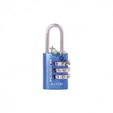 Замок навесной кодовый  AL11 20*3 синий  BLOSSOM 0249286 Китай