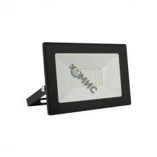 Прожектор 100Вт 7000Лм 6500К 250x185x35 Ultraflash LFL-10001  C02 черный (LED SMD прожектор, 100 Вт, 230В, 6500К) 14285, РФ 1049