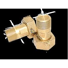 Комплект присоединительный лат Ду15 д/вод L=36 ВР/НР Цветлит (ZW50102)